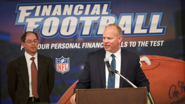 UW Extension helps release Financial Football with Governor Mead, Broncos quarterback Osweiler