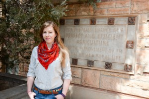 Kristin Gunther, UW College of Agriculture and Natural Resources graduate student.