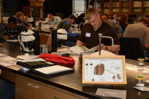 Students in the entomology short course complete a 3-hour Order-level insect ID test to earn a certificate.