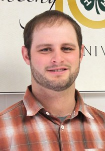 Blake Hauptman, University of Wyoming Extension area educator, Crook County office
