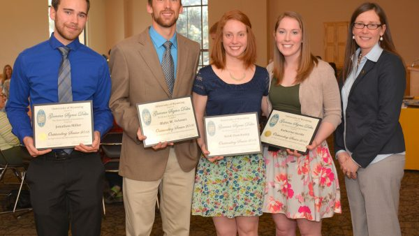 Gamma Sigma Delta honors outstanding student academics, research