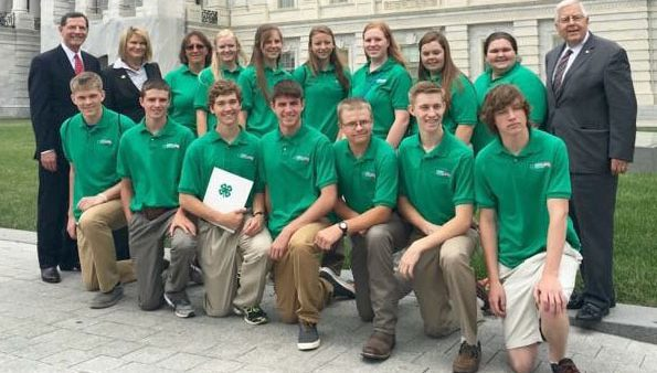 Wyoming 4-H'ers target bee decline in plan formed in Washington, D.C.